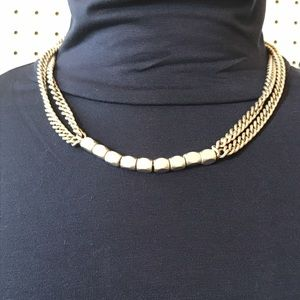 Fossil multi chain necklace